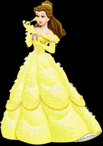 image freeuse stock Belle transparent princes. Princess png picture clipart