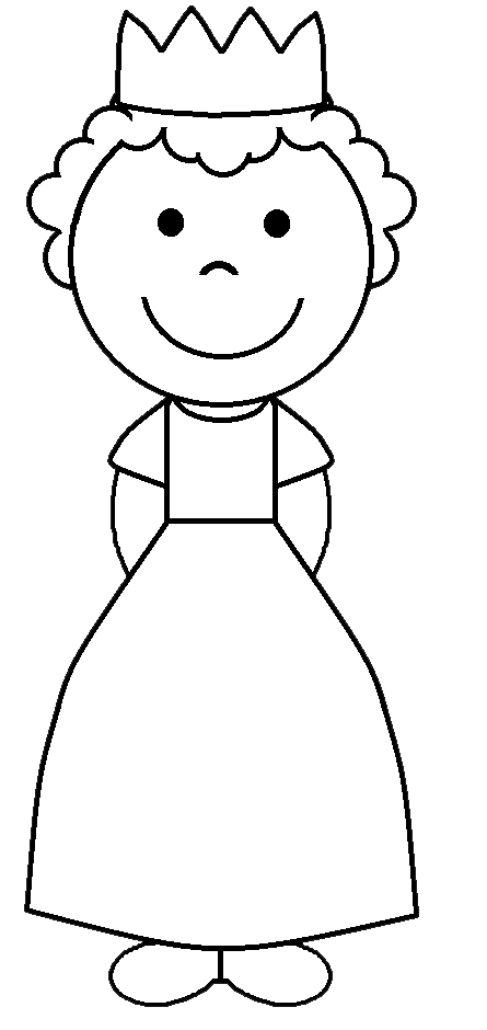 jpg freeuse Graphics by ruth fairy. Princess clipart black and white