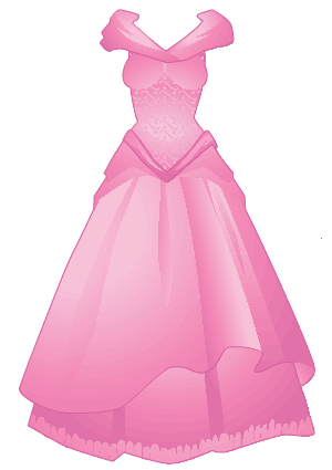 clip royalty free Princess Dress Clipart
