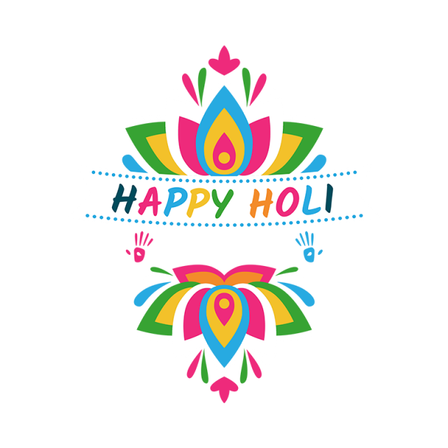 vector free download Print clipart holi. Happy label holy png
