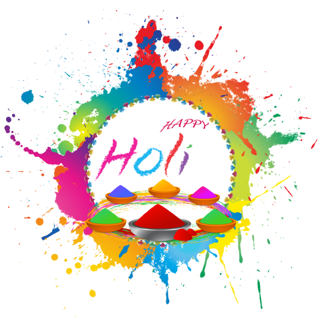 jpg freeuse stock Happy wishes png and. Print clipart holi