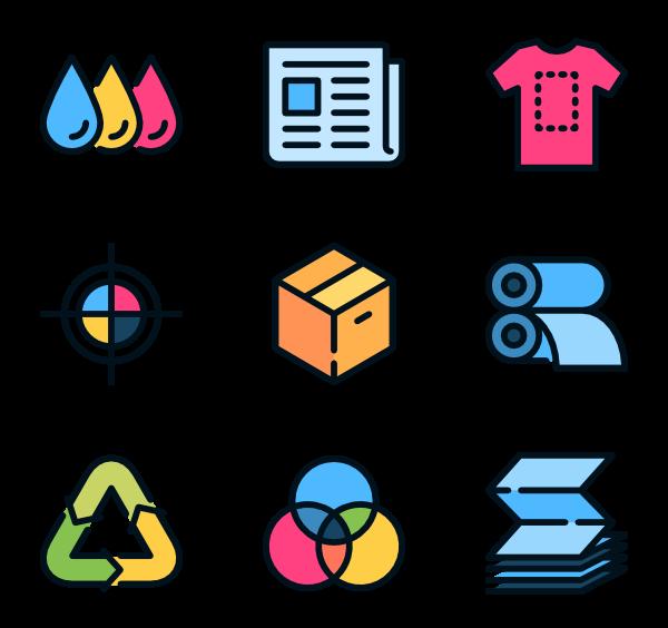 freeuse offset printing icons