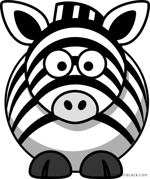 jpg free download Zebra print clipart. Grayscale clipartblack com animal.