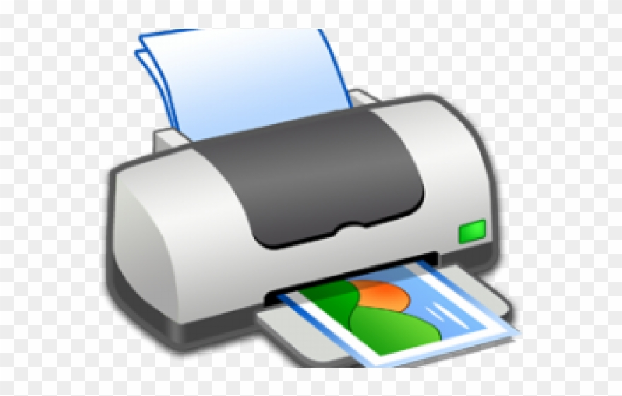 graphic transparent library Printer clipart. Logo ikon png download.
