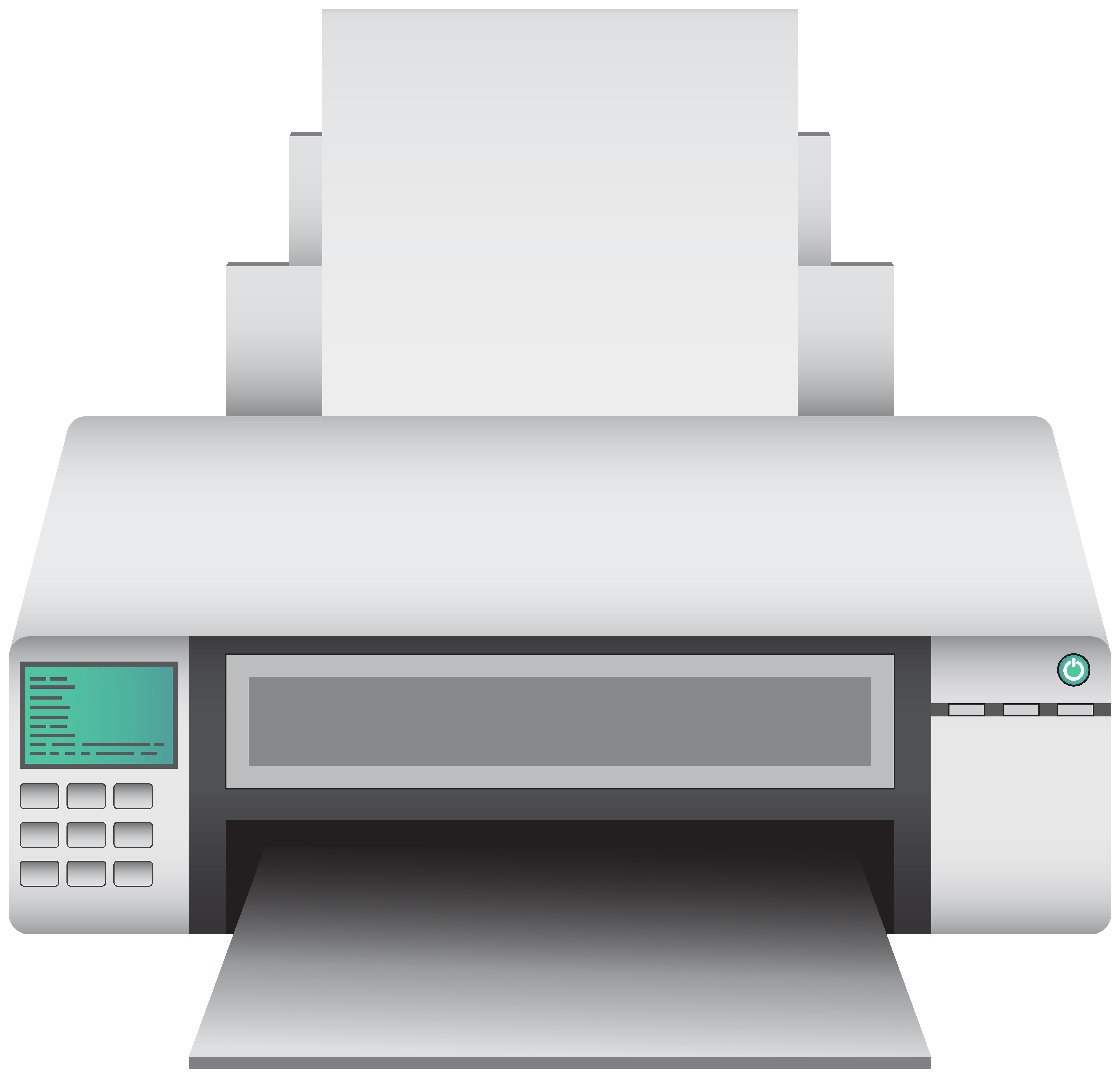 svg black and white Printer clipart. Png clip art best.