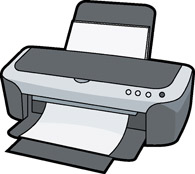 vector freeuse library Free cliparts download clip. Printer clipart.