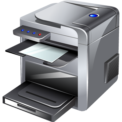 banner black and white library Printer clipart. Icon web icons png.