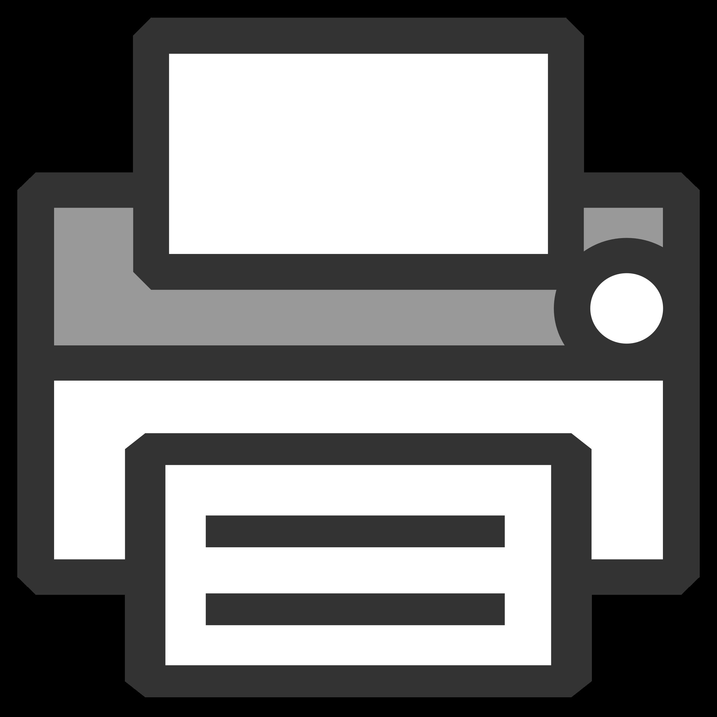 vector royalty free Printer clipart. Icon big image png.