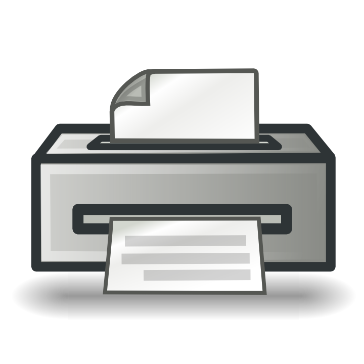 graphic download Printer Icons