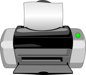 image transparent Inkjet Printer Clip Art at Clker