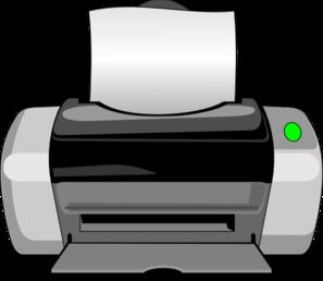 royalty free stock Inkjet Printer Clip Art at Clker