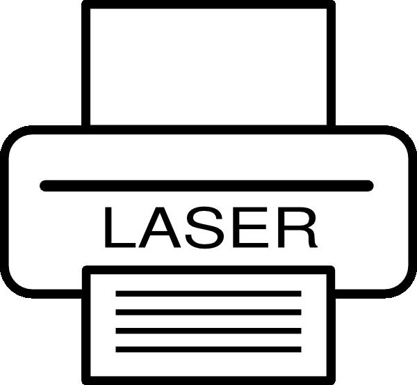 transparent download Laser Printer Clip Art at Clker