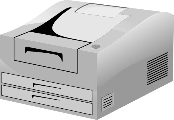 image library download Hp Laser Printer Clip Art at Clker
