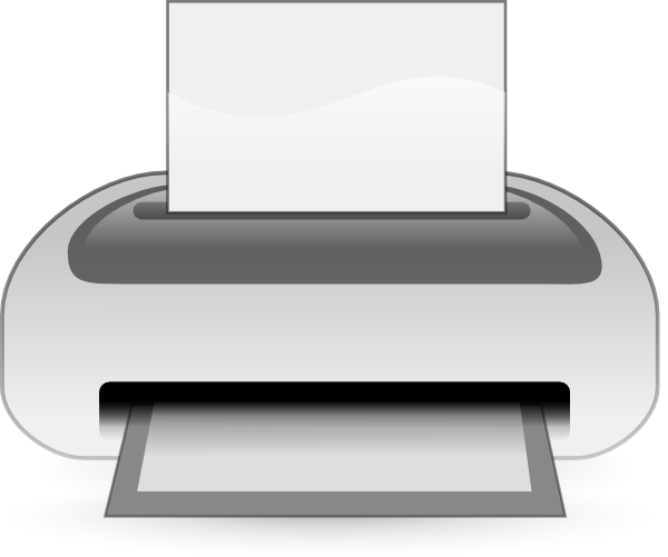 picture transparent download Etiquette Printer Clip Art at Clker