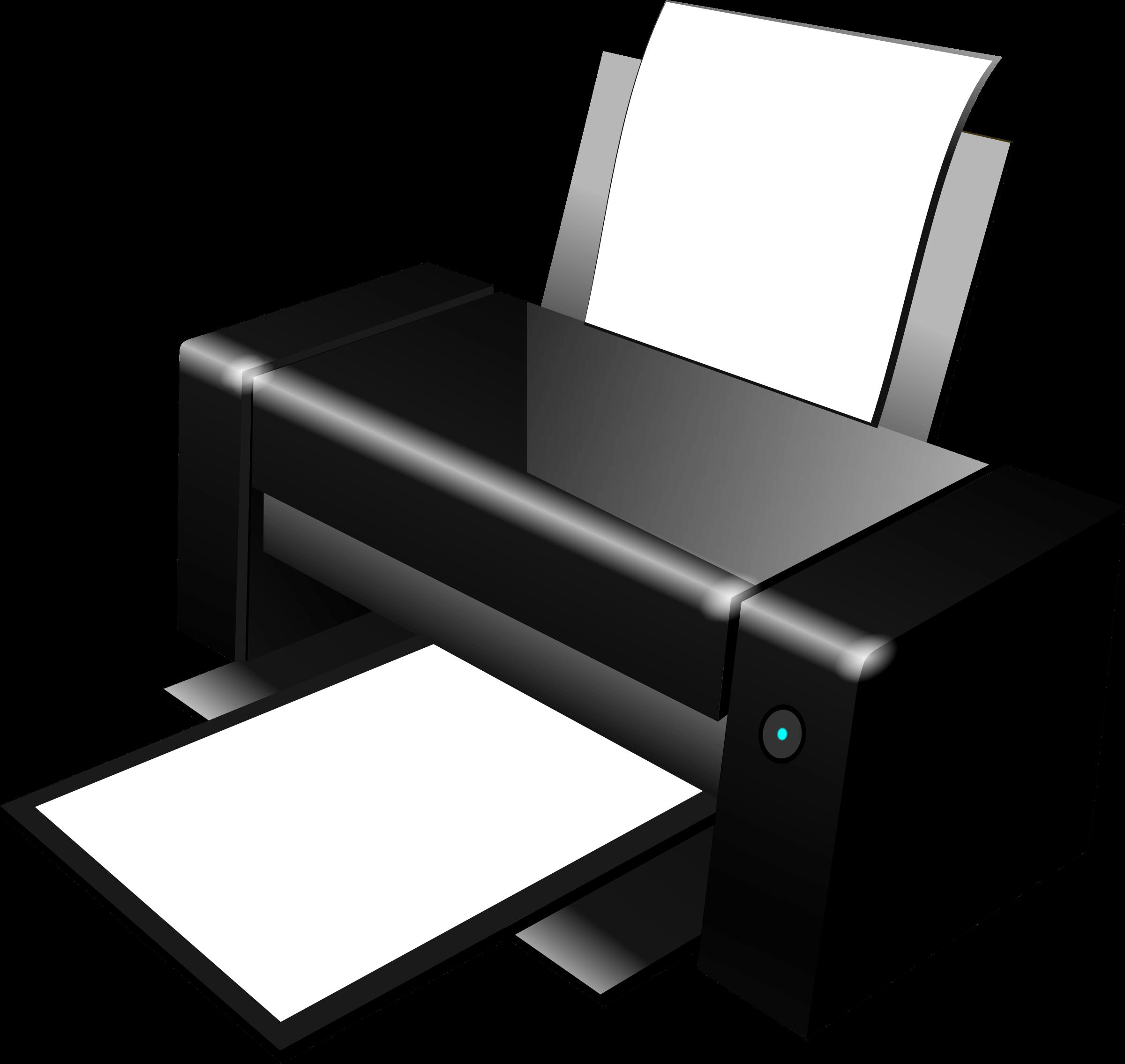 clip art transparent download Printer clipart. Black transparent png stickpng.