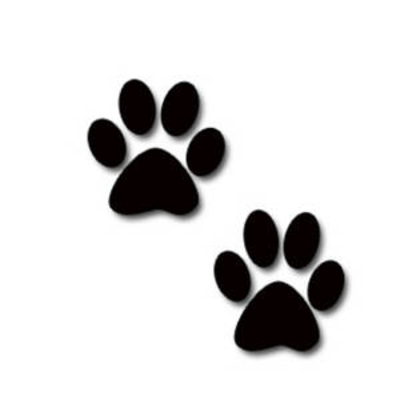 graphic Prints clipart. Free dog footprints cliparts.
