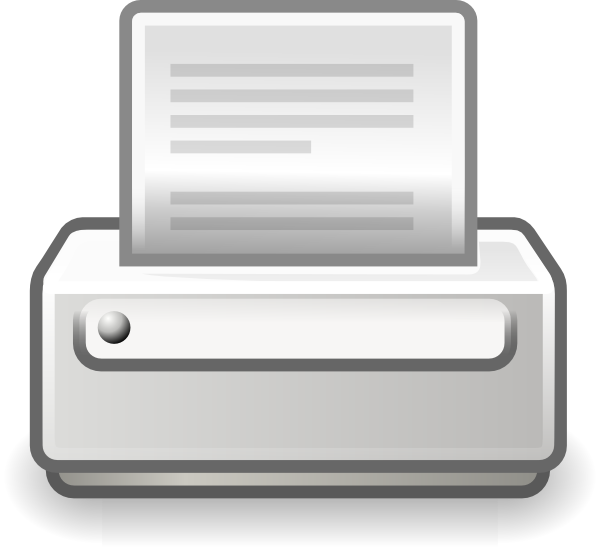 clip free library Prints clipart output device. Printer clip art at