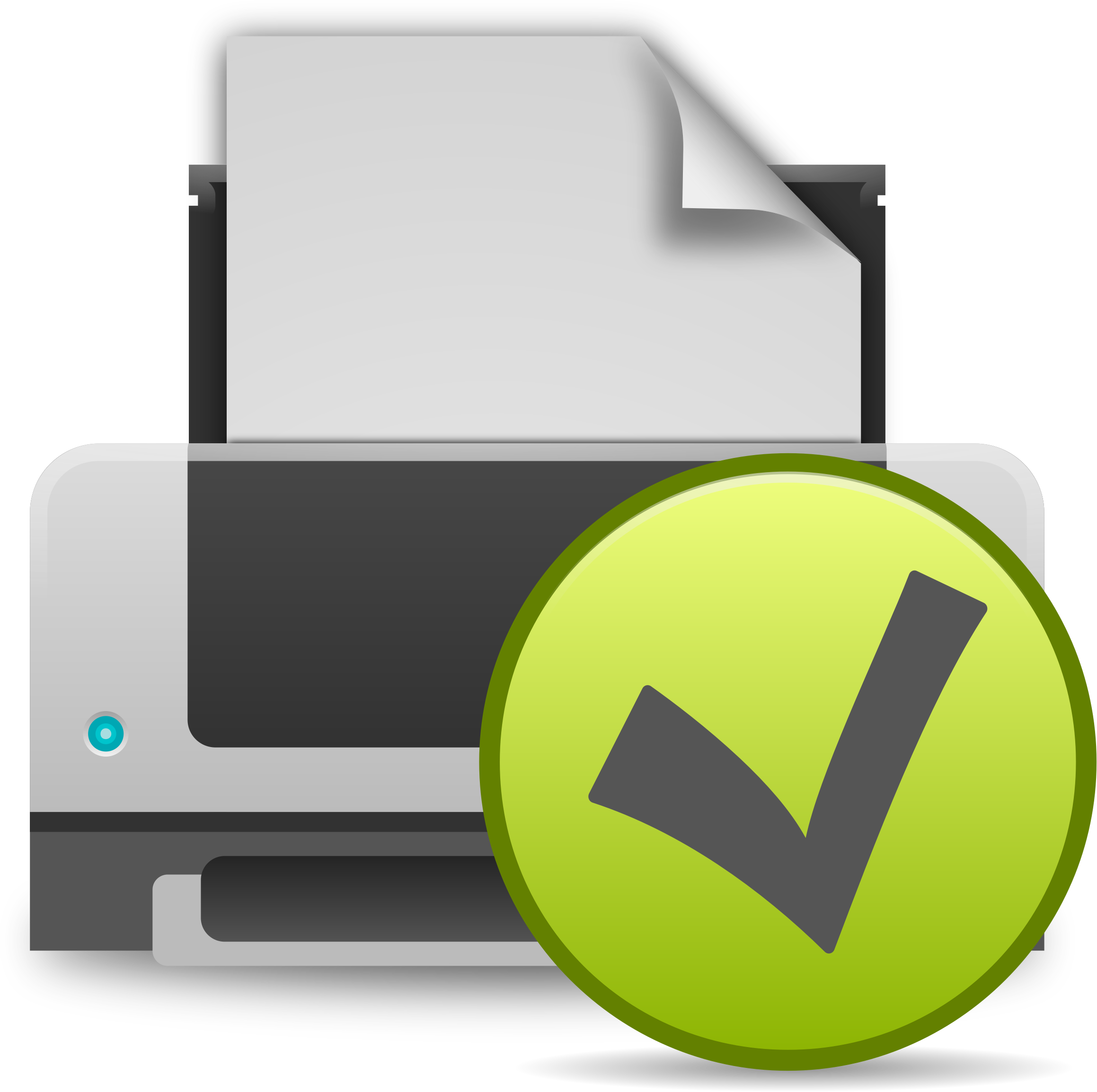 image free stock Prints clipart output device. Printer printing icon big