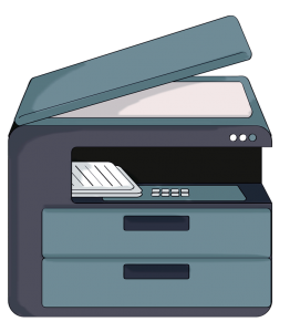 clipart freeuse download Prints clipart output device. Sap management system printing