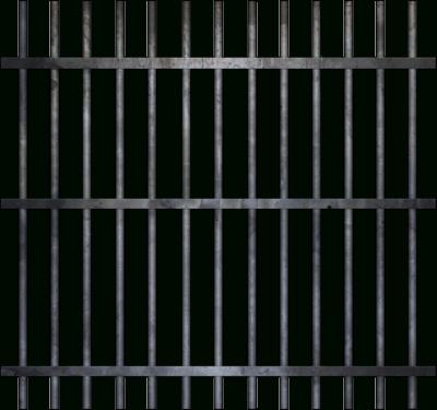 svg Jail Bars Clipart