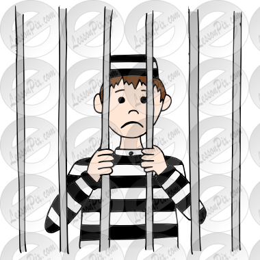 jpg library Cartoon free on dumielauxepices. Prison clipart.