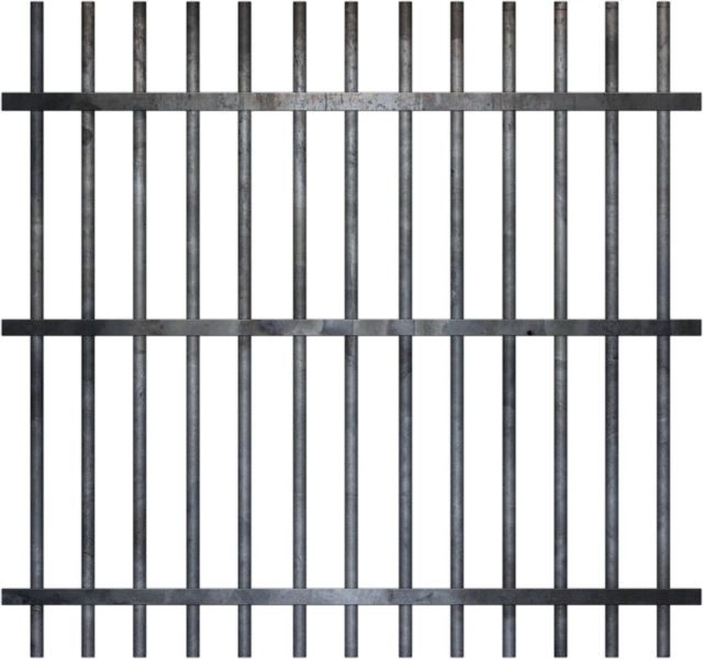 vector library Bars group cell psd. Man in jail clipart