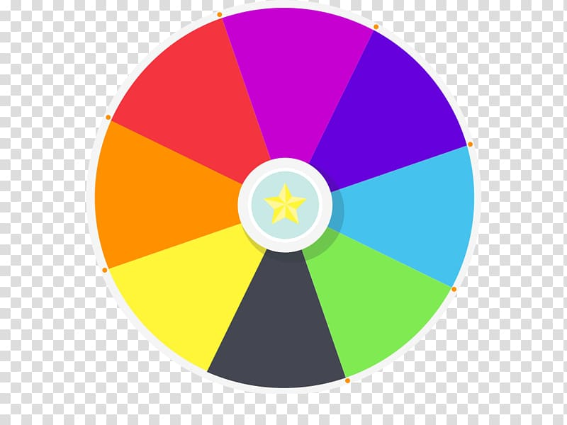 png free stock Color spinning spin . Prize wheel clipart.