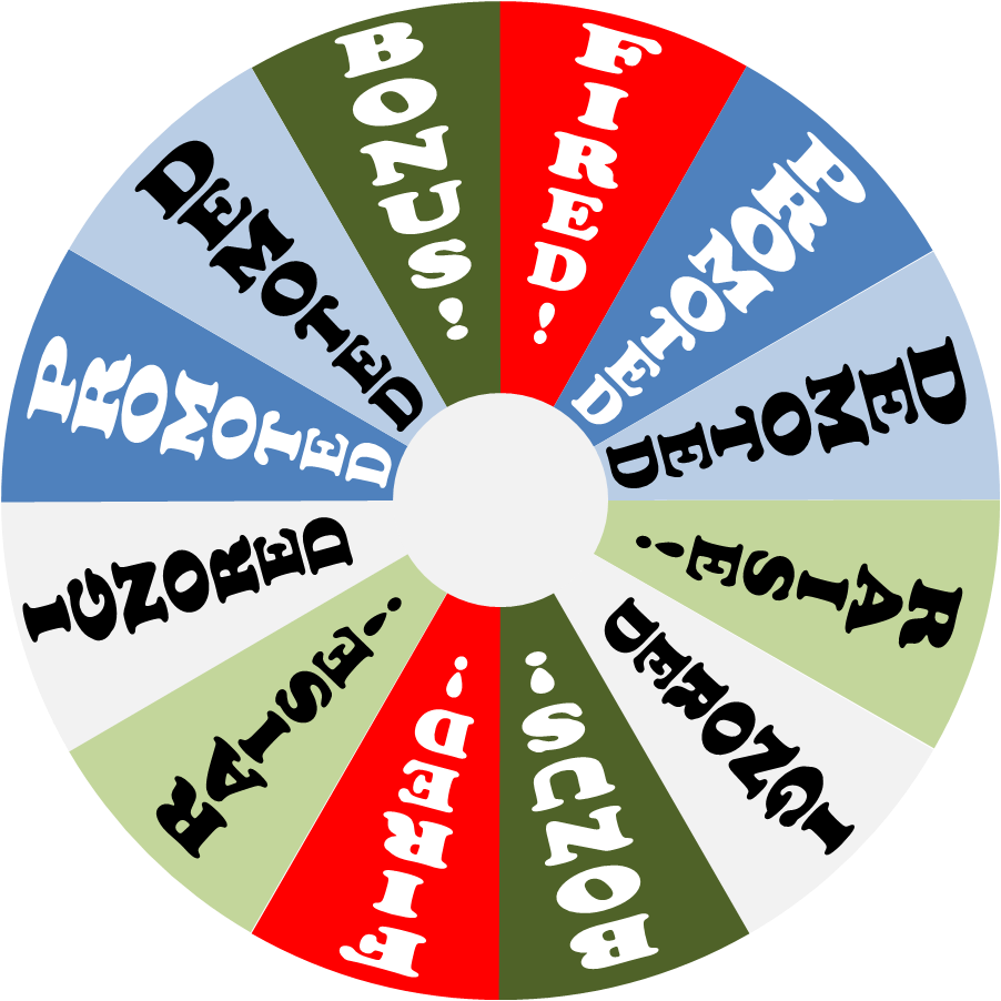 clip royalty free library Wheels of fortune part. Prize wheel clipart.