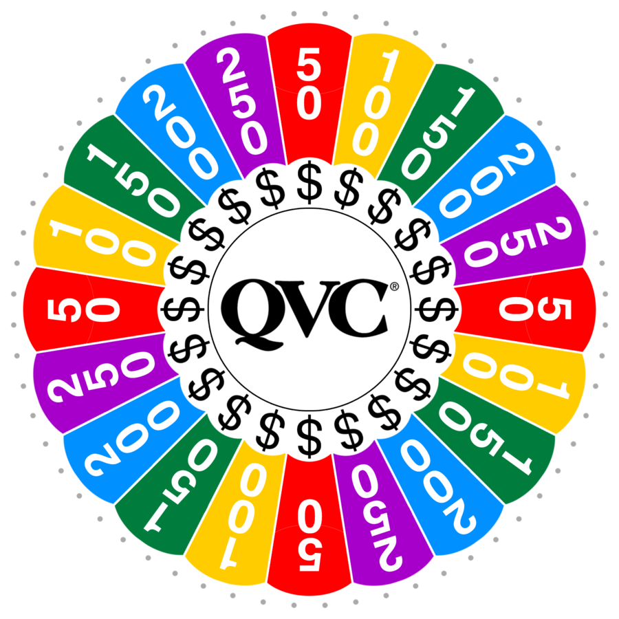 banner free library Qvc by wheelgenius on. Prize wheel clipart.