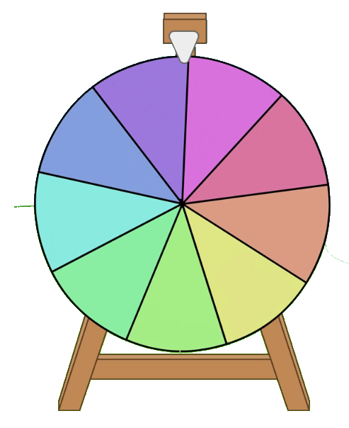 clip art transparent download Prize wheel clipart. Meade county fair dont