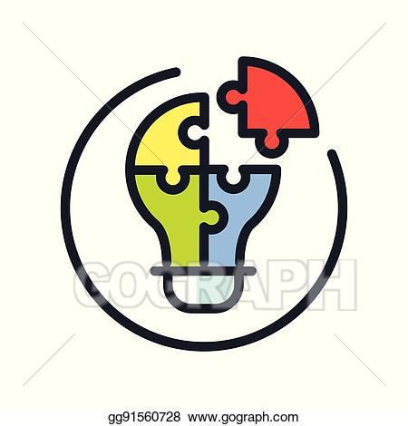 clip library library Problem clipart. Vector stock solving icon