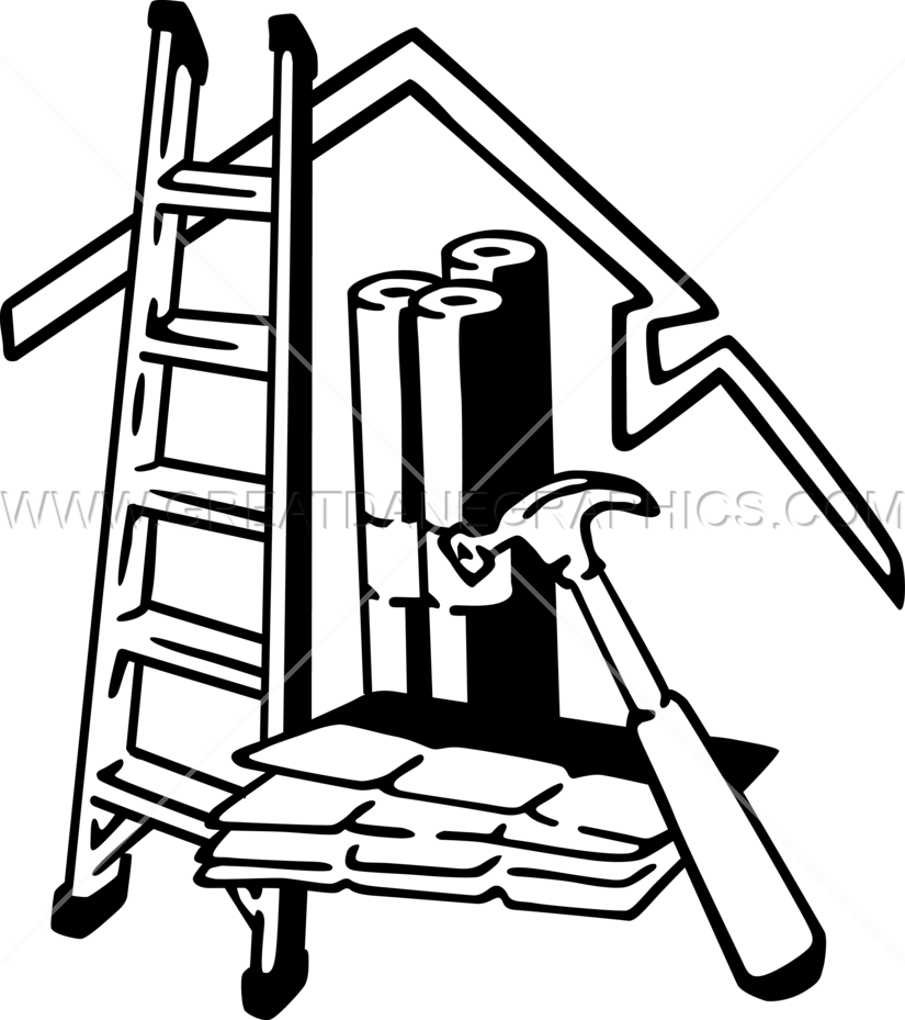 graphic royalty free Roofing Equipment