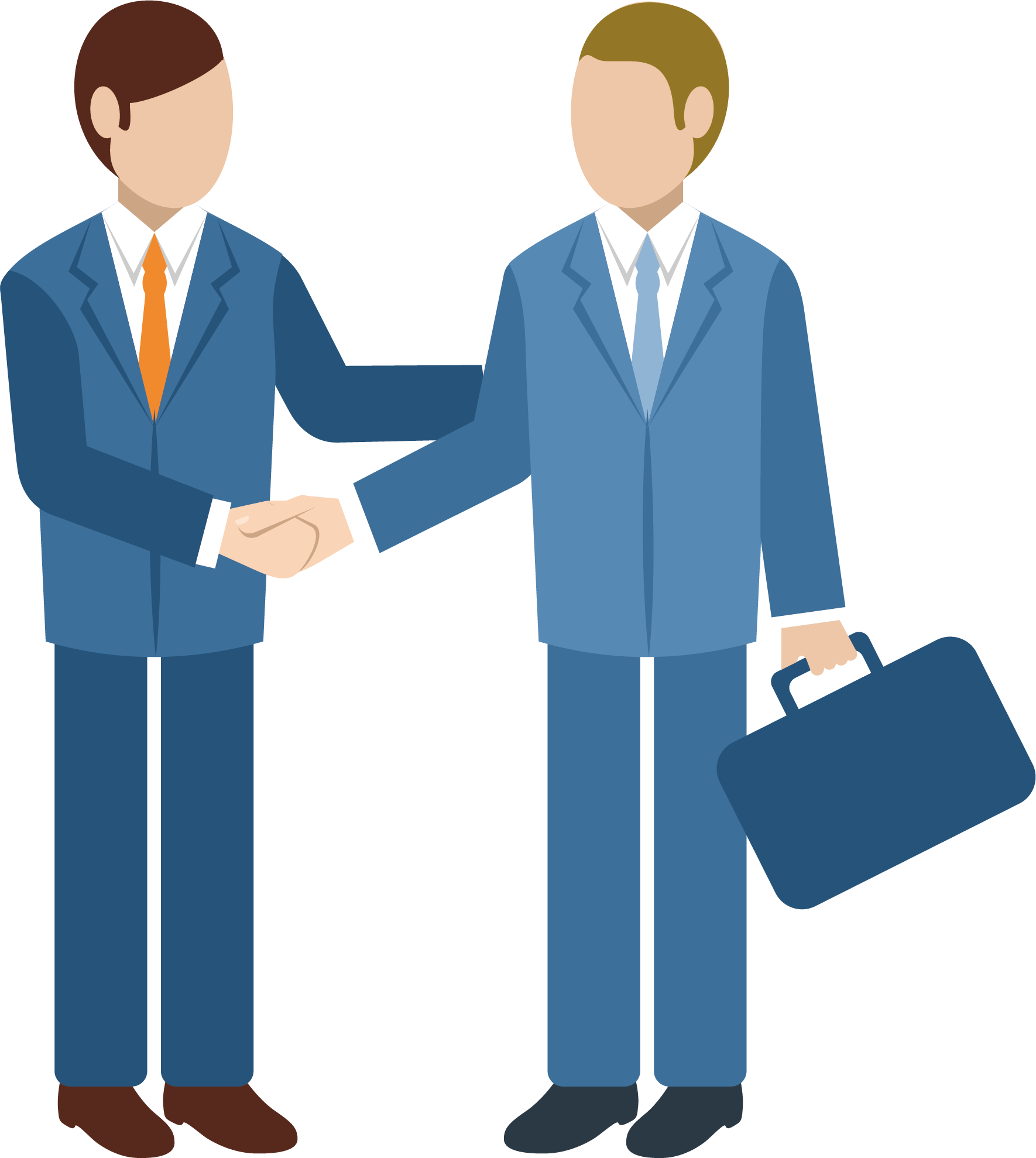 svg freeuse stock . Professional clipart business relationship