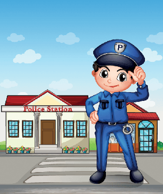 clipart transparent stock Professional clipart officer. Police pbs learningmedia