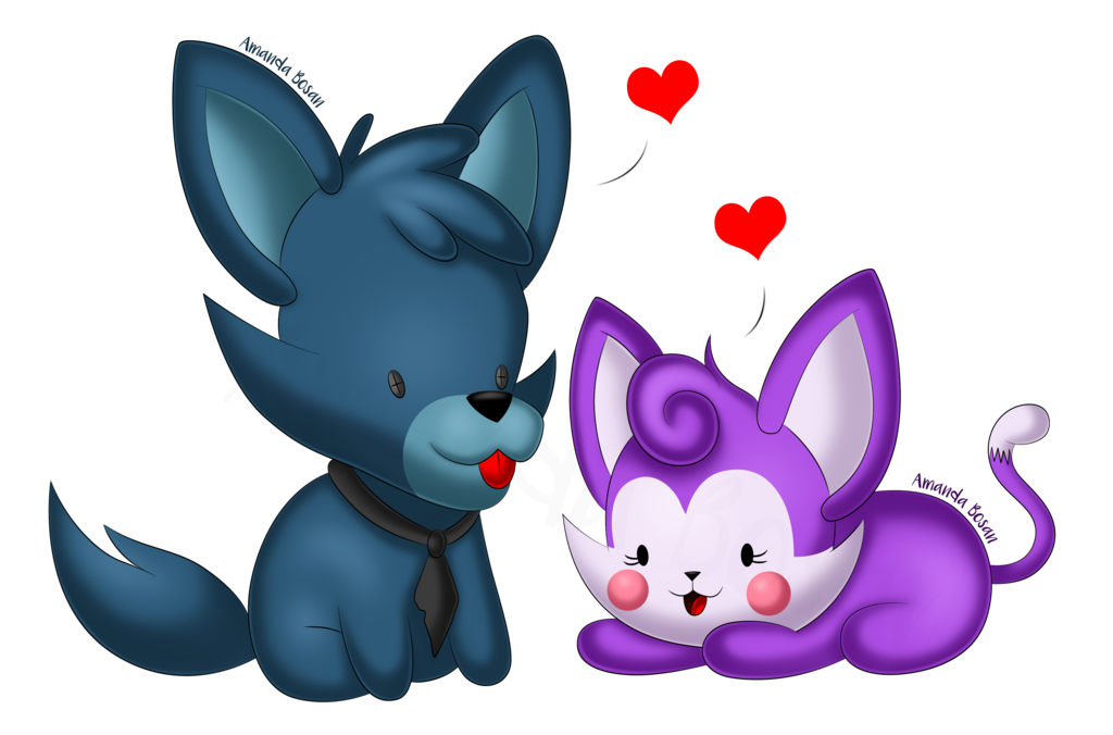 clip free library Chibi Old Candy and Cindy by Amanddica on DeviantArt