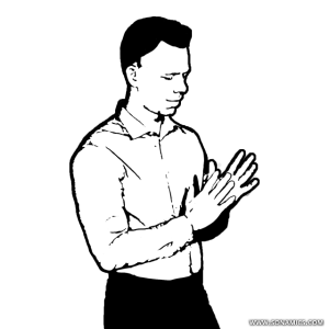 image transparent Block drawing person male. Body language and social