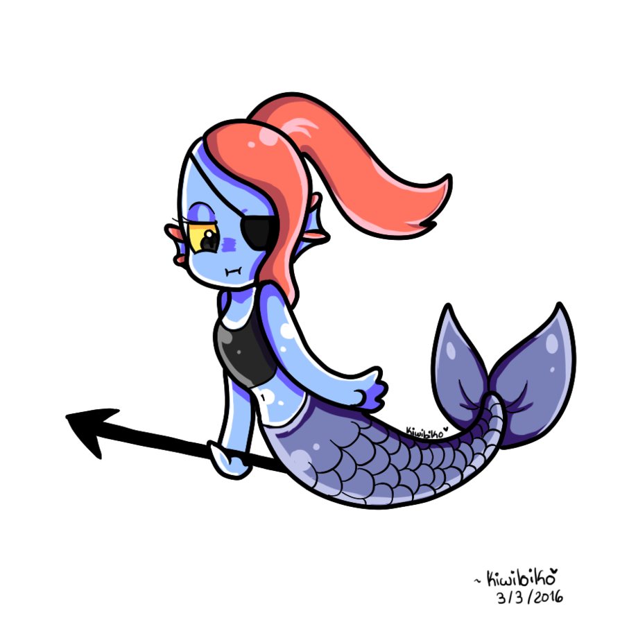 png freeuse download By koniimelia on deviantart. Undyne transparent little mermaid