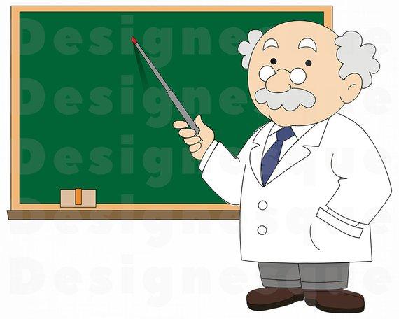 vector free stock Professor clipart. Svg teacher class college.
