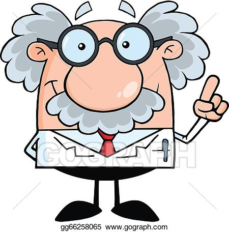 picture download Vector stock scientist or. Professor clipart.