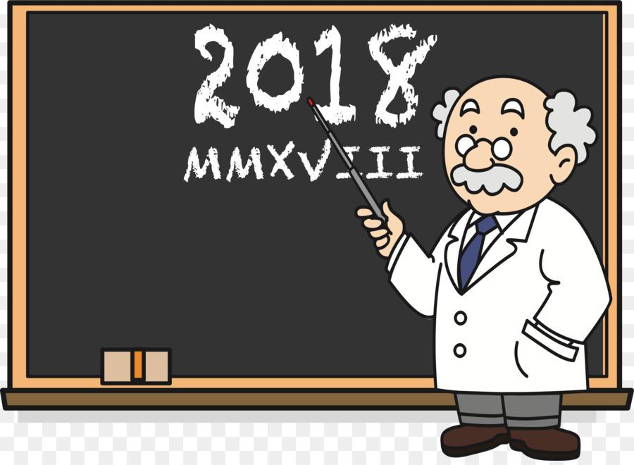clipart black and white library Teacher cartoon text . Professor teaching clipart
