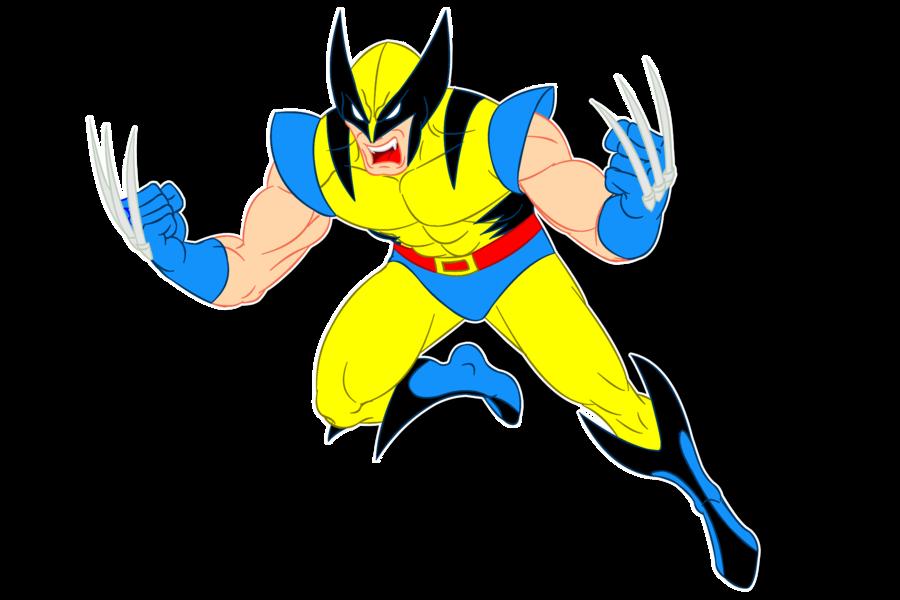 image Professor x clipart. Wolverine men clip art
