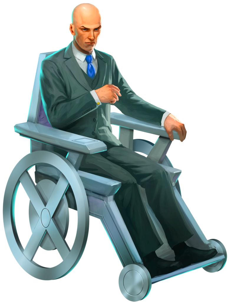 image free stock Professor x clipart. Pages category
