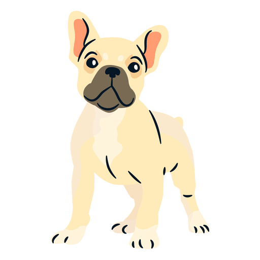 banner freeuse download Puppy transparent png svg. Vector bulldog french
