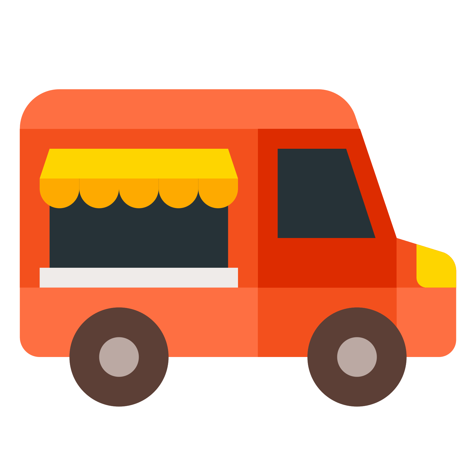 jpg stock Food Truck Icon