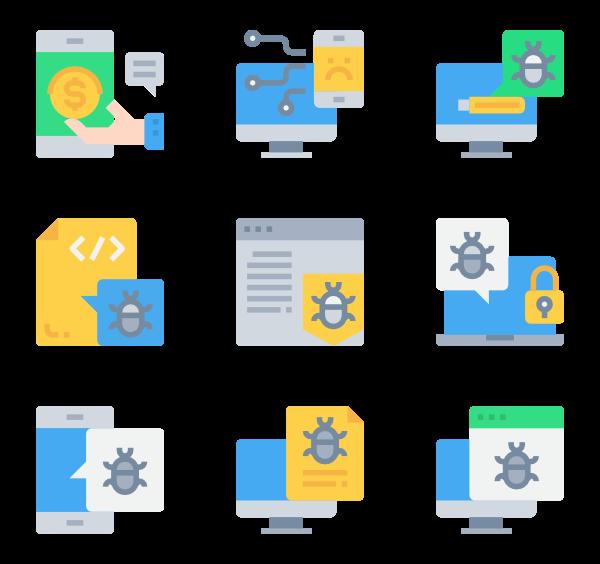 vector free Programming Icons