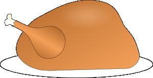 svg transparent stock Turkey On Platter Clip Art at Clker