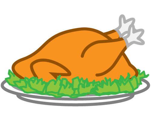 graphic library Cooked Turkey Leg Clipart