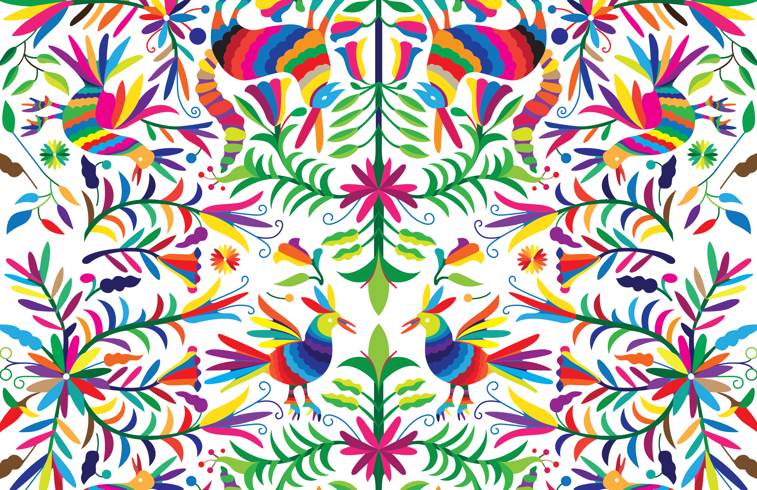 clip transparent Psychedelic vector. Otomi indoors pinterest pattern.
