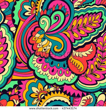 image transparent library Abstract colorful seamless pattern. Psychedelic vector.
