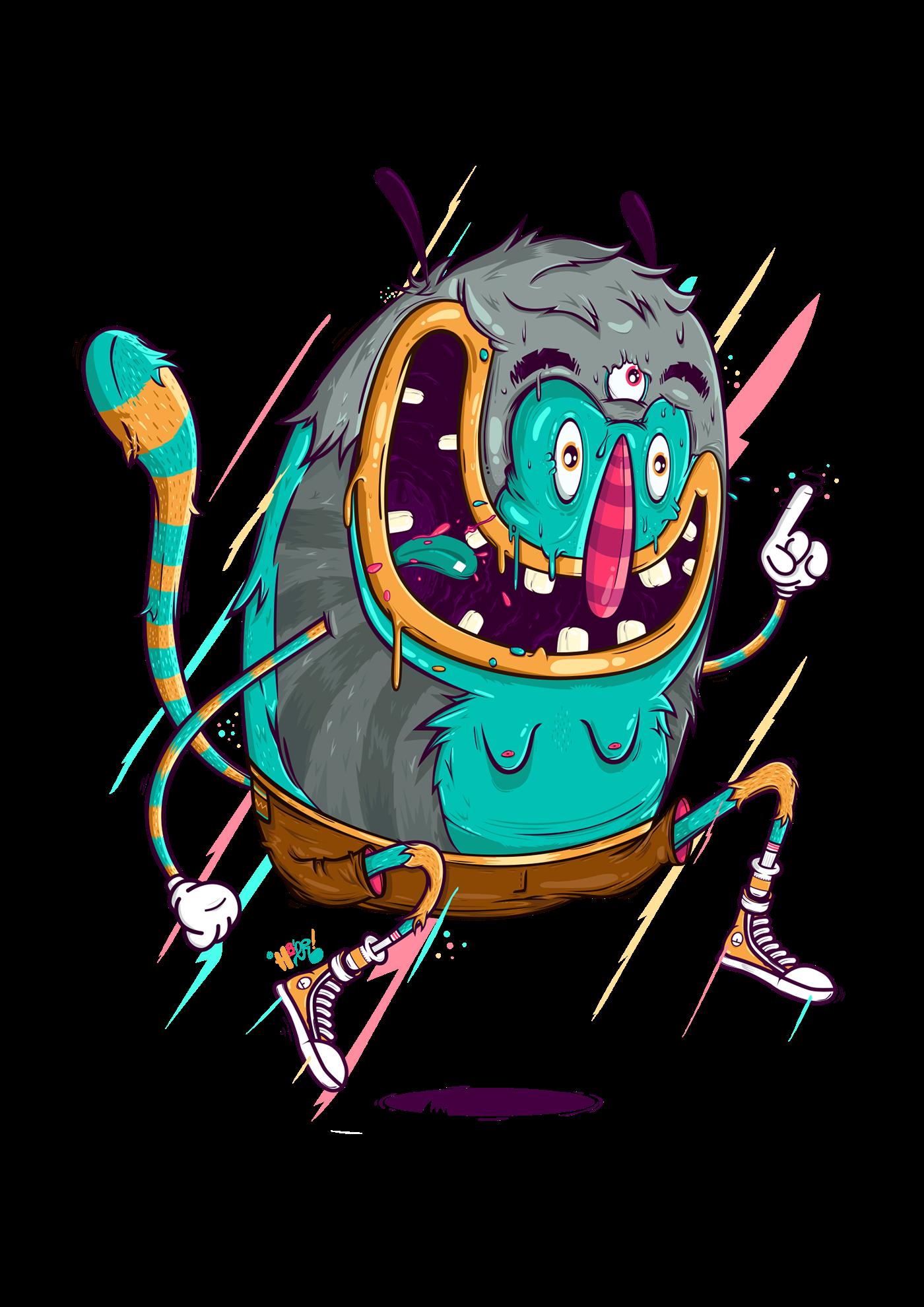 image library library Freak Monster on Behance